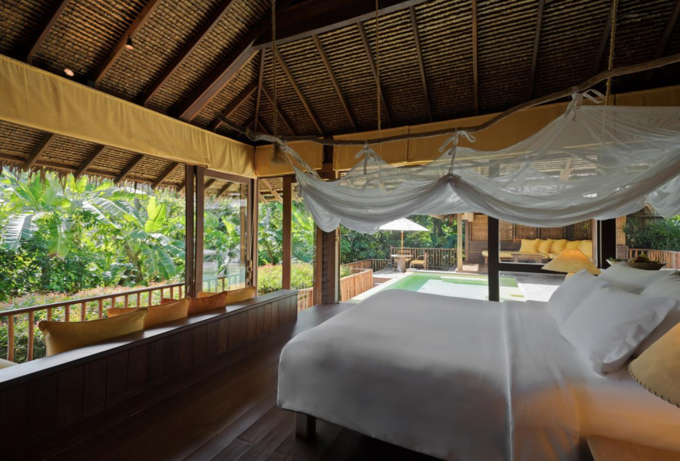 Hideaway Pool Villa bedroom